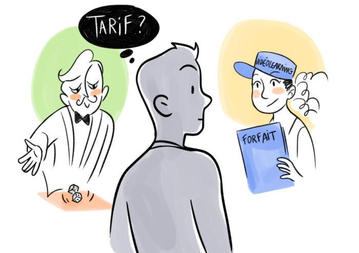 tarif e-learning