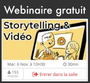 Webinnaie sur le storytelling